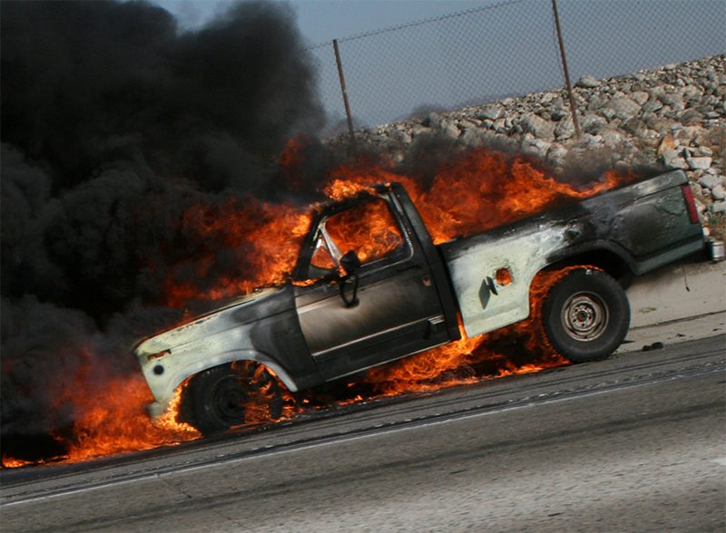Car fire and the steps to speedy insurance claims